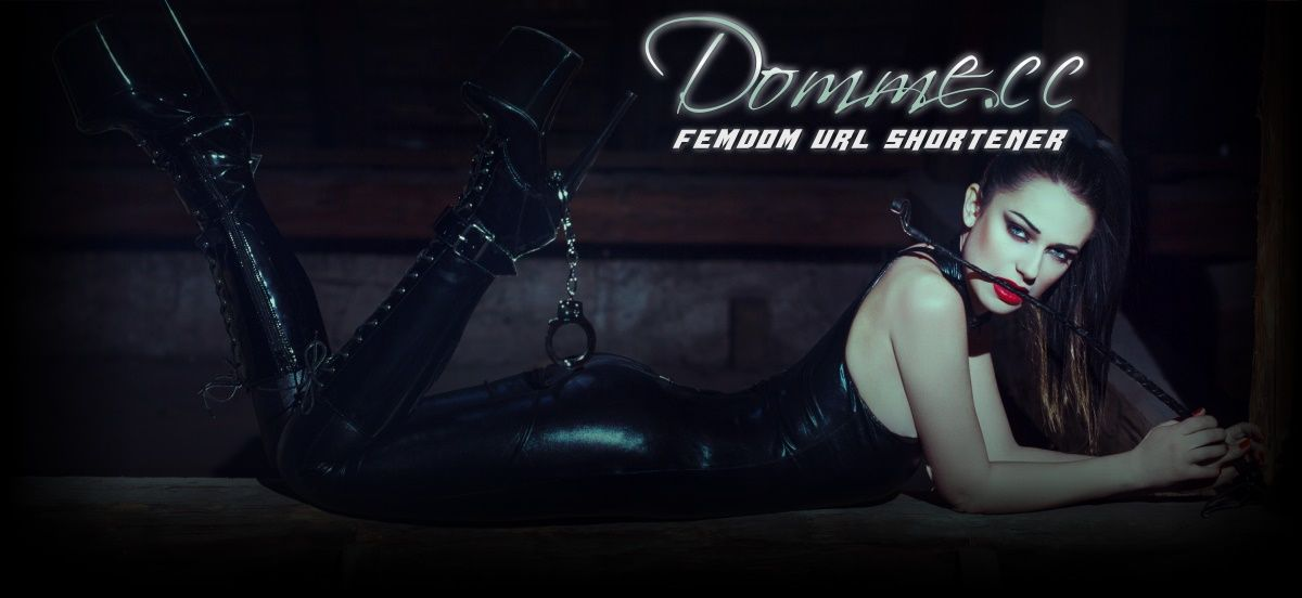 Domme.cc - Shorten your links!